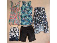 Ladies size 10 clothes bundle