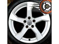"17"" Genuine Audi A3 Sport alloys perfect cond Michelin tyres"
