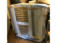 BRAND NEW Commercial extractor fan and canopy