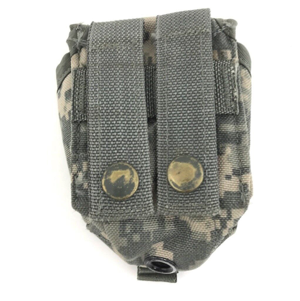 10 Military Hand Grenade Pouch, Army ACU Digital Camo MOLLE II Pouches