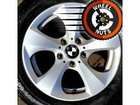 "16"" Genuine BMW alloys Renault Trafic Vauxhall Vivaro perfect cond excel tyres."