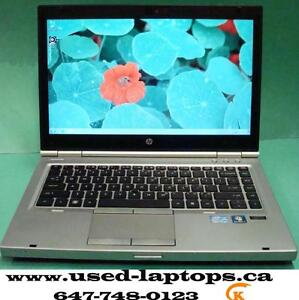 The rugged business laptop 14' hp Elitebook8460,8440p(i3,i5/4G/250GB/Webcam)$189-$199