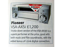 Pioneer VSX-AX5i Dolby 7.1 Channel Surround Sound Home Cinema Receiver Amplifier