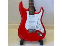 The Stratocaster Guitar CRAFTER ELECTRIC GUITAR CRUISER ST-120 - RED