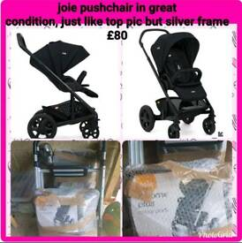 Joie travel system in good condition £70