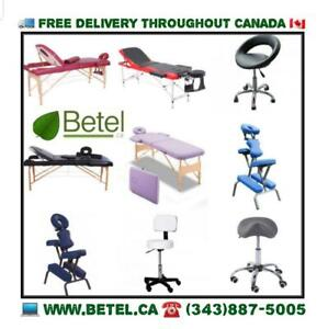 From $69!! Massage Spa Tattoo Reiki Tables, Beds, Chairs, Stools Sale | Free Delivery
