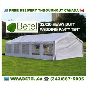SUMMER SALE | Brand New 32x16 • 32x20 Large Wedding Party Event Tent • 20x32 Heavy Duty Steel Tents