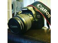 Canon 550D DSLR Bundle