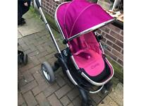 I Candy peach pram CHEAP