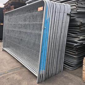 👷🏼♂️ USED HERAS FENCING SETS X 40 > PANELS/ FEET/ CLIPS