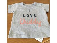 I love Daddy t-shirt