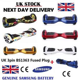 UK CE SEGWAY - FREE UPS DELIVERY - Hoverboard Smart Swegway Balance Wheel Scooter