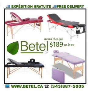 New Premium Reiki Physio Tattoo Folding Mobile Massage Table -  Free Delivery