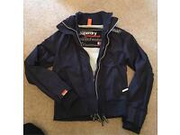 Genuine SuperDry Professional The Windcheater Jacket Large Navy