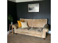 Elegant Laura Ashley 3 seat sofa - can deliver in Cardiff