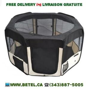 Sale @ WWW.BETEL.CA || Travel Dog Puppy Playpen - Foldable, Portable & Washable  || We Deliver FREE!!