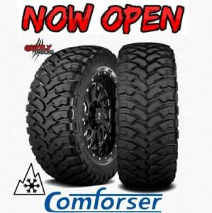 Comforser MT/ XF Mud Tracker - SNOWFLAKE RATED 10 PLY TIRES!!! WICKED DEALS !!!