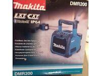 Makita job site blue toothspeaker