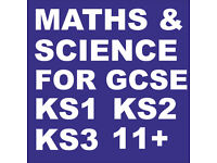 GCSE MATHS & SCIENCE Private Home Tutor , Also KS1 KS2 KS3, Tuitions Are Held In Students Home