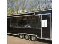FOR LEASE MOBILE CATERING TRAILER BUSINESS