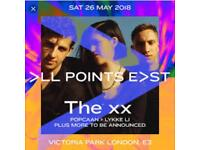 All Points East Festival Saturday The XX