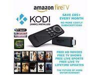 Amazon Fire TV Stick with KODI ADD-ONS !!!