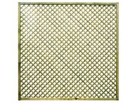 Lavendal Modern Trellis Panel 1.8m x 1.8m