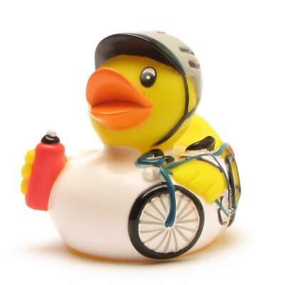 Patito de baño ciclista Patito de goma