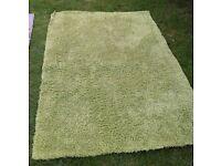 HUMPEN rug ikea 195cm/ 133cm green