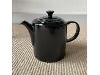 Le Creuset Teapot Black