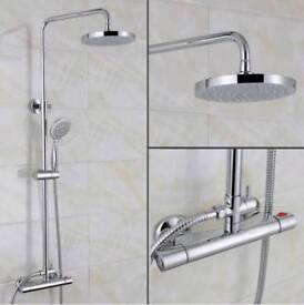 Shower and mixer taps set
