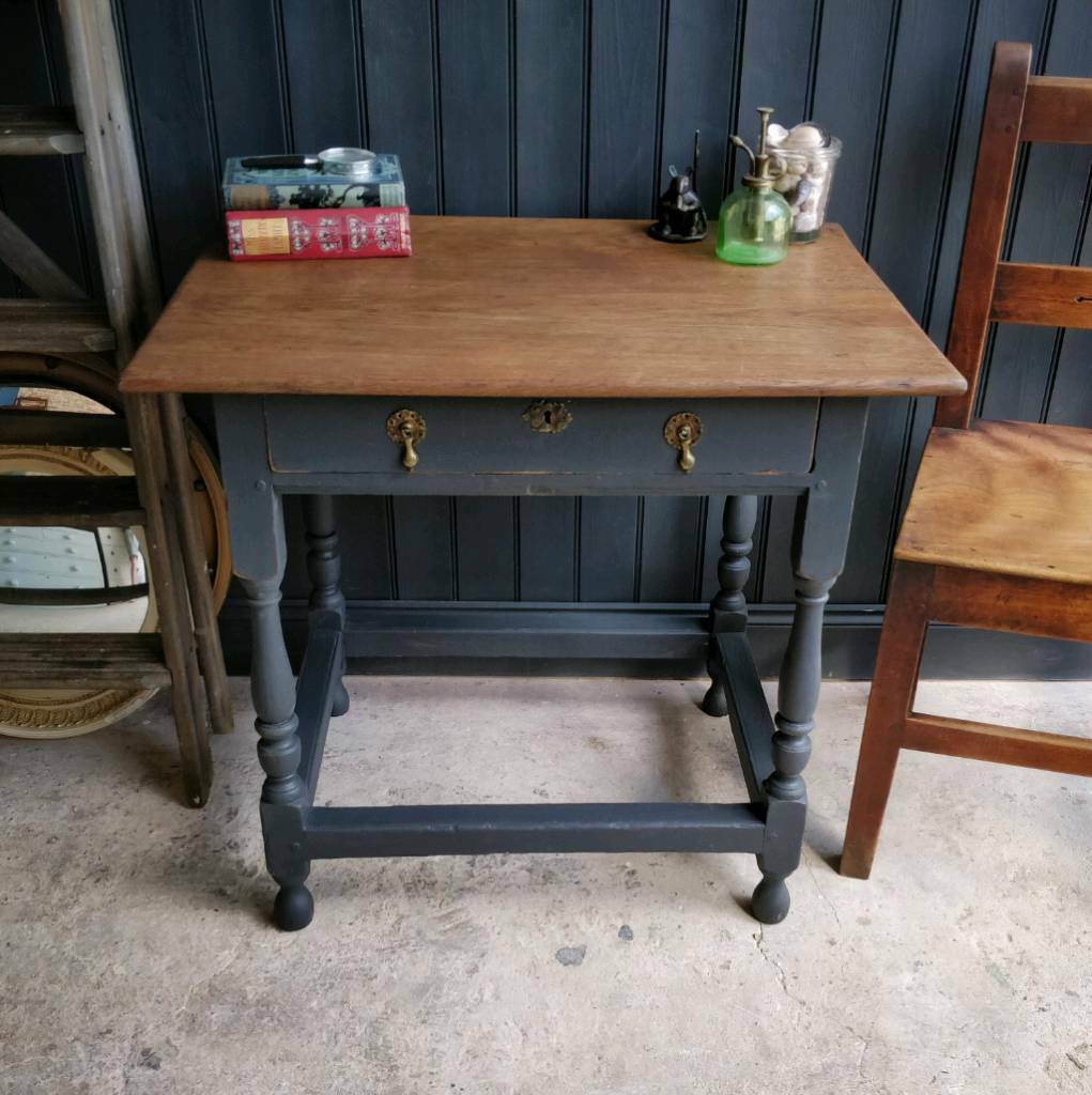 Fantastic Georgian Solid Oak Side Table Bedside Table Sofa Table End Table Lamp Table In Lee On The Solent Hampshire Gumtree Machost Co Dining Chair Design Ideas Machostcouk