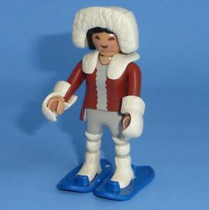 Playmobil Eskimo with Snow Shoes - Series 10 Female Figure 6841 NEW