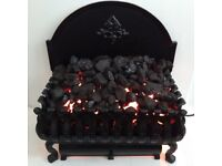 Cast Iron Basket Electric Fire Cottesmore