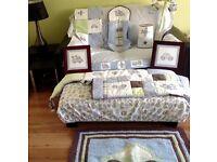 Kids Line Mosaic Transport Nursery Range - 11 items Luxury Nursery Range