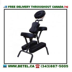 FREE DELIVERY | Portable Mobile Massage Chair with Carrying Case