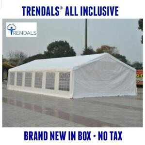 TRENDALS® BRAND NEW | Brand New 40x20 ft Heavy Duty Wedding Party Event Canopy Tent 20x40  SPRING SALE