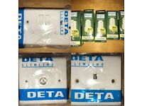 Job lot of Electrical Fittings/ Accessories