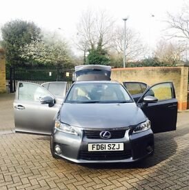 2012, fully loaded , immaculate Lexus hybrid. 1 previous owner ,1 year MOT, full service history.