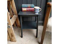 Mid century side table, sofa table, coffee table, painted side table, end table, bedside table