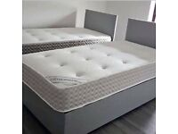 BRAND NEW DOUBLE DIVAN BED WITH MATTRESS - GENUINE AND NEW