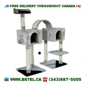 SALE @ WWW.BETEL.CA | FREE DELIVERY | 45 Inch Dual Condo Cat Activity Centre