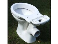 White WC Toilet Pan (used)