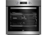 Beko BIF16300X Built In Single Oven, Stainless Steel