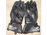 RST Blade Black Motorcycle Gloves