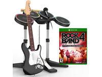 BRAND NEW - XBOX ONE ROCK BAND 4 Full Band Kit - ROCKBAND