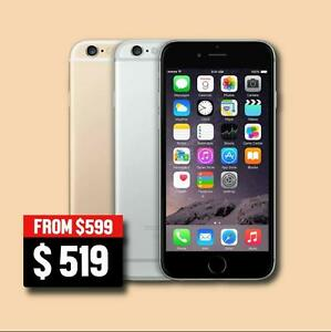 IPHONE 6 16GB - $519 (gold,silver,spacegrey) , IPHONE 6 64GB - $699 FACTORY UNLOCKED