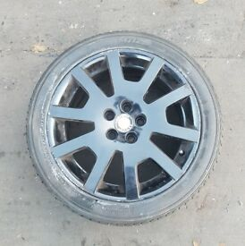 Skoda Black VRS Alloys Wheels with Tyre 16 Inch This Rims will fit a Fabia Superb or Octavia