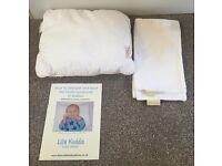 Lilla Kuddis Baby Pillow & Case's X 2 Flat Head Syndrome