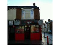 Fried chicken takeaway to rent
